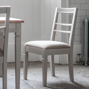 The Atlantic dining chair (2pk) Neutral