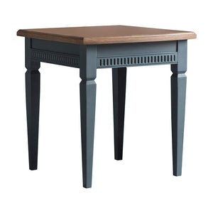 The Atlantic Side Table Blue Grey