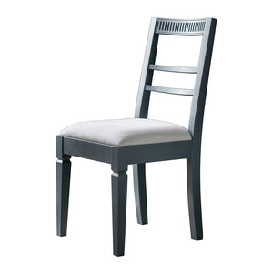The Atlantic Dining Chair - Blue Grey
