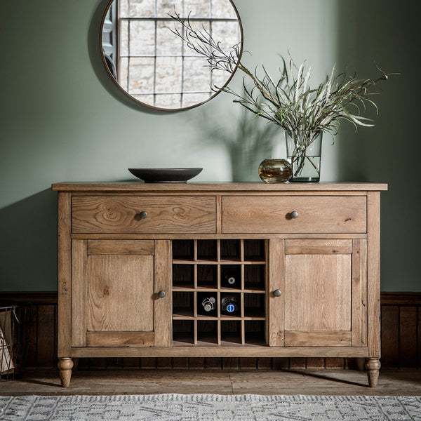 The Large Rural Sideboard Smokey Oak