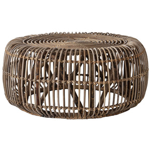 Rattan Coffee Table cut out