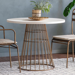 Aruba Small Dining Table with chairs