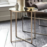 Brennan Side Table Silver