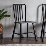 The Bergen Dining Chair in Black