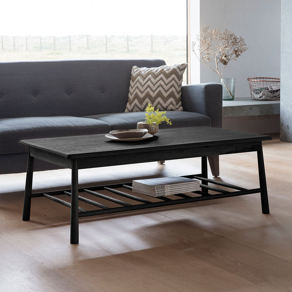 The Bergen Coffee Table in Black