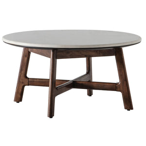 The Retro Round Coffee Table cut out