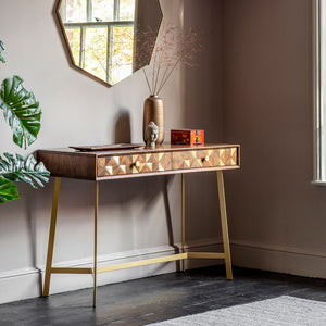 The Brass Console Table