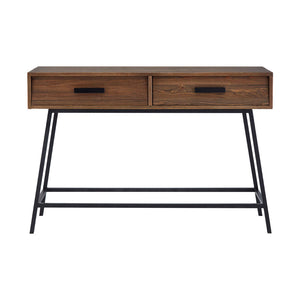 The Talbot Console Table front angle view