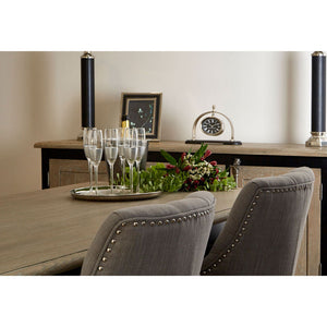 Two Townhouse Dining Chairs at table