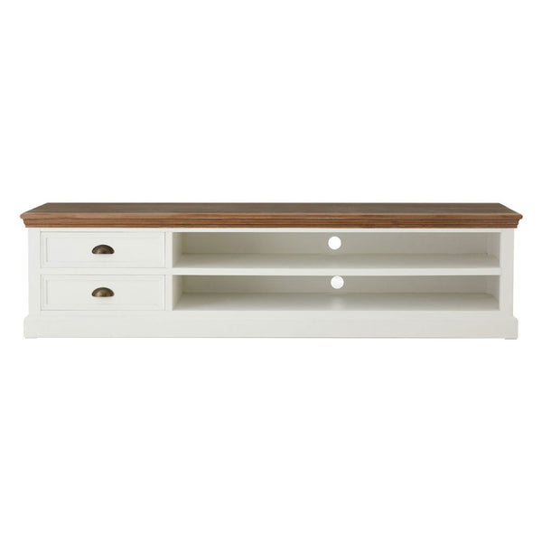 Hardwick Media Unit Fir Veneer Cup Handles