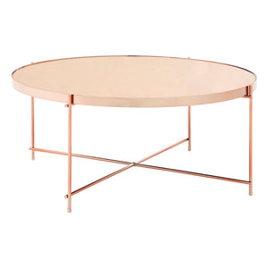The Mirrored Coffee Table - Rose Gold