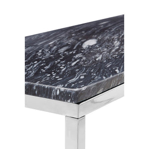 The Black Marble Console Table