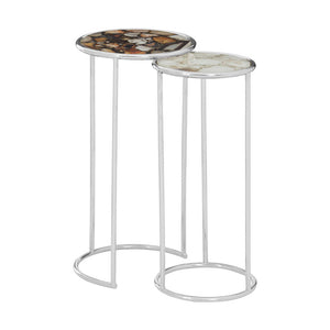 The Agate Nesting Side Tables