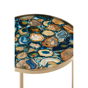 The Blue Agate Table