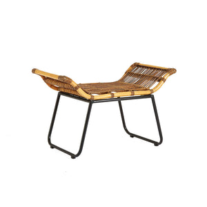 The Nordic Rattan Footstool
