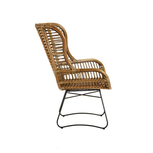 The Rattan Chair side view