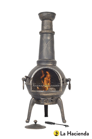 Cast iron chimenea (three sizes)