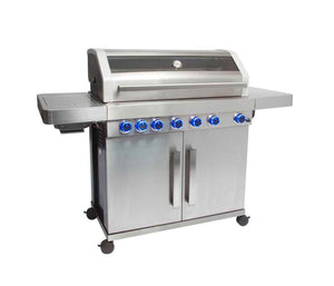 Grillstream Stainless Steel Gas BBQ - 6 Burner - cutout