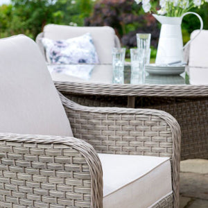 2019 Kettler Charlbury 6 Seat Dining Set - close-up of chair