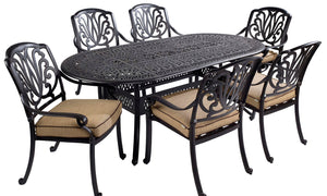 2018 Hartman Amalfi 6 Seat Dining Set with Oval Table