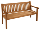 2018 Hartman Wooden Somersby 3 Seat Bench - Acacia Wood