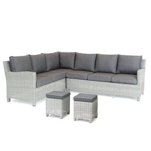 2019 Kettler Palma Casual Dining Corner Set cut out without table