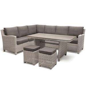 2019 Kettler Palma Casual Dining Corner Set cut out