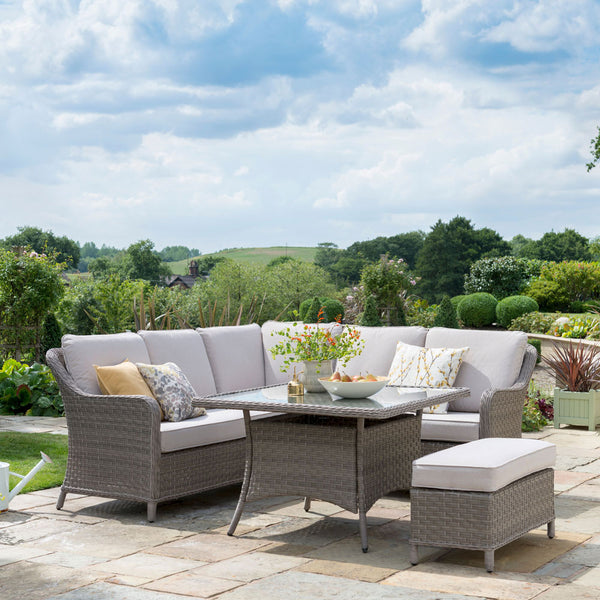 2019 Kettler Charlbury Mini Casual Dining Corner Set