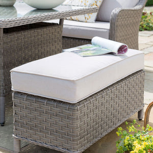 2019 Kettler Charlbury Mini Casual Dining Corner Set - bench close up