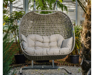 Bramblecrest St Ives Double Hanging Cocoon Swing Seat