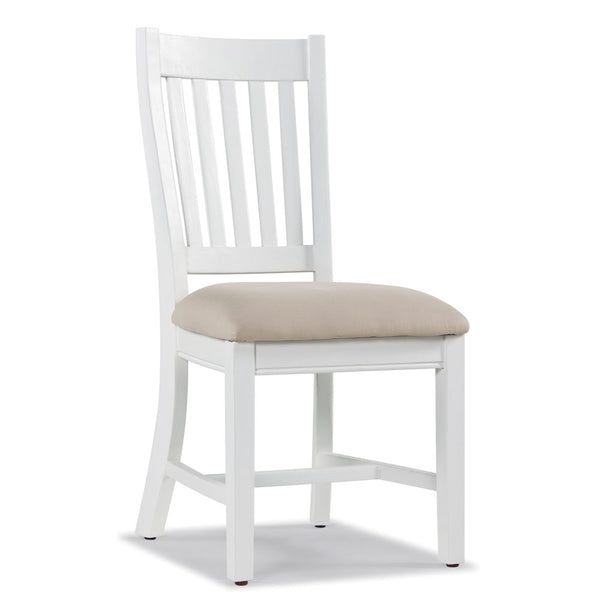 Rowico Classic Pine Dining Chair With A Padded Linen Cushion