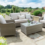 Kettler Charlbury 4 Seat Lounge and Table Set