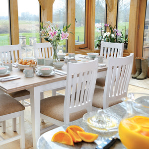 Classic Dining Set with 4 Classic Chairs (1.4m)