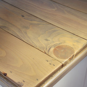 Close-up of table top of Classic Dining Table