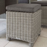 2019 Kettler Palma Casual Dining Mini Corner Set close up of stool