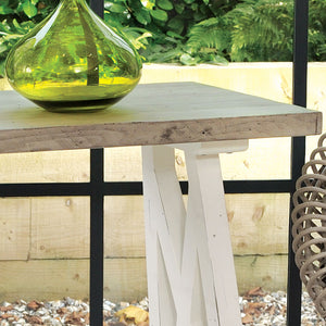 The White and Grey Console Table
