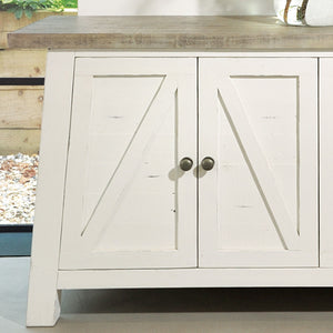 The White and Grey Sideboard