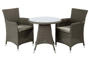 2018 Hartman Appleton 2 Seat Bistro Set - Dark Grey