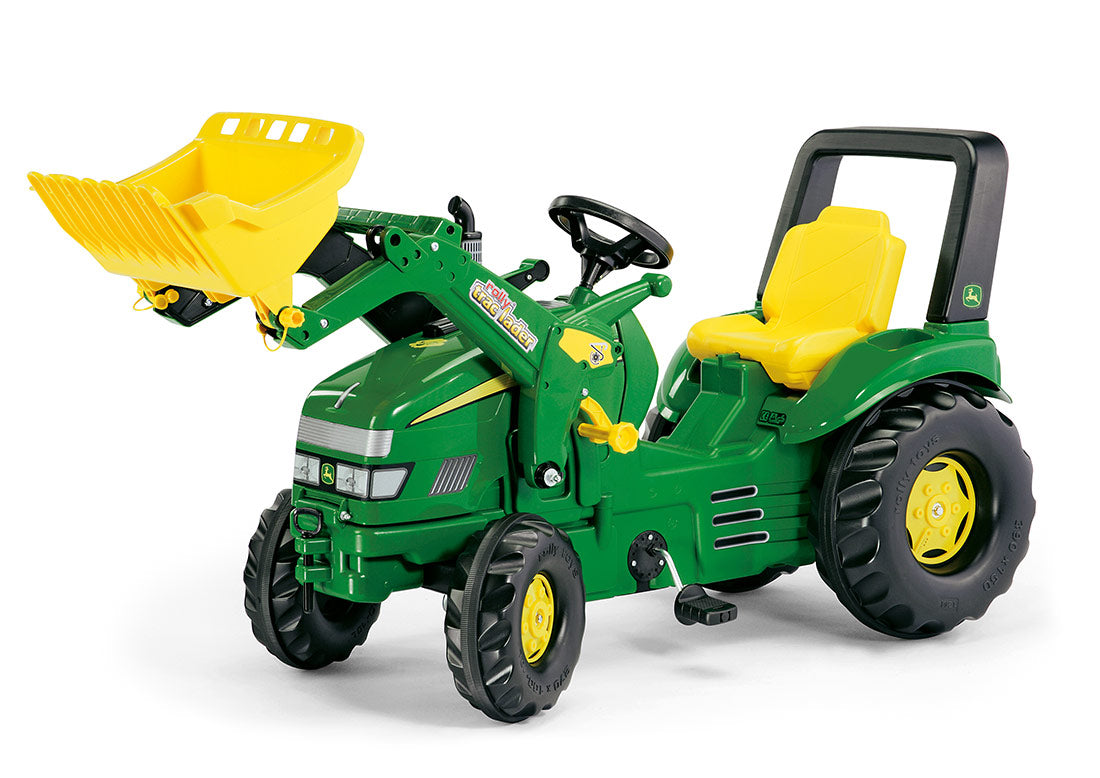John Deere X Trac Rolly Trac Front Loader Pedal Tractor Kids