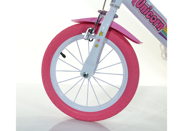 Girls Pink Unicorn 16 Quot Bike With Stabilisers Happyhometoys