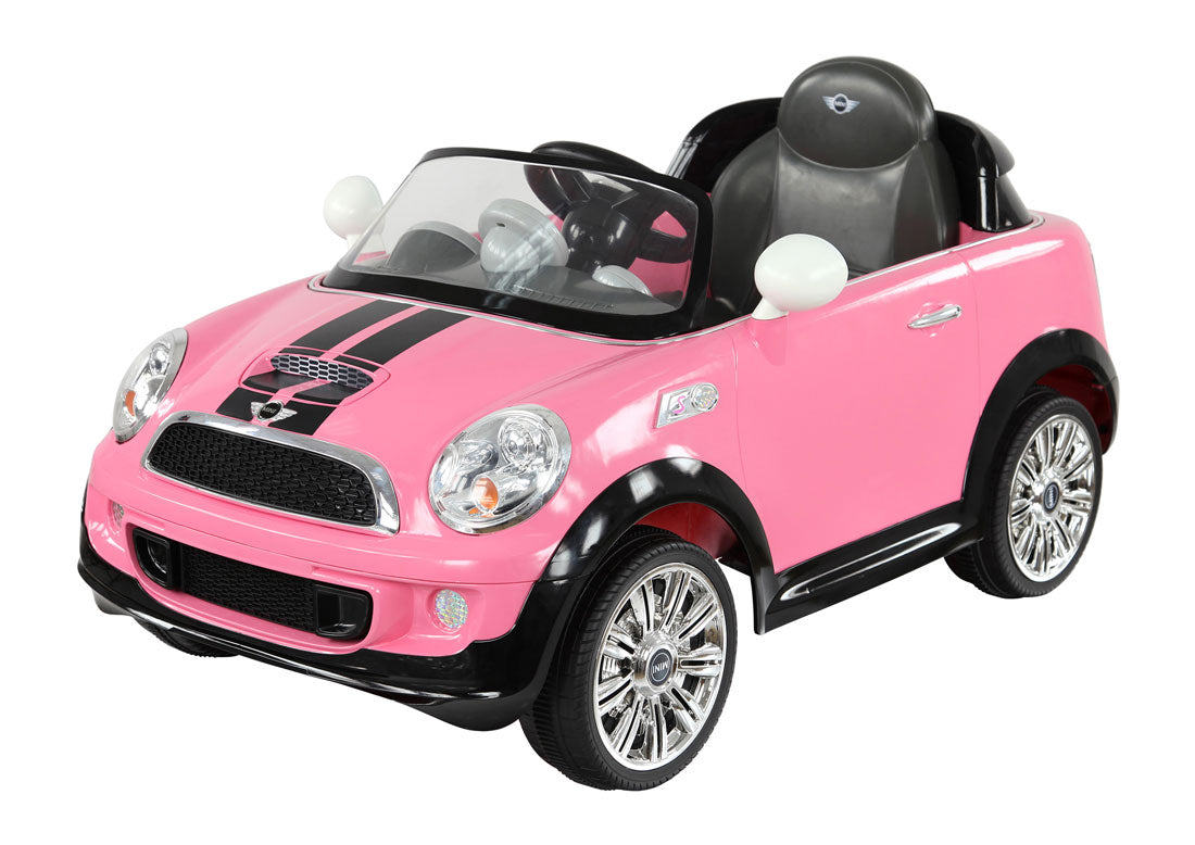 Mini Cooper S Coupe 6v Licensed Electric Kids Ride On Car With Remote Happyhometoys