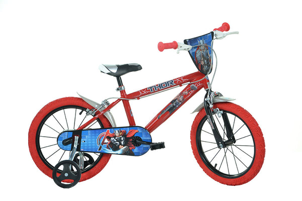 Thor 16 Quot Licensed Kids Bike With Stabilisers Happyhometoys