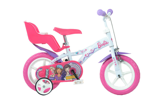Barbie 12 Quot Licensed Kids Bike With Stabilisers Happyhometoys