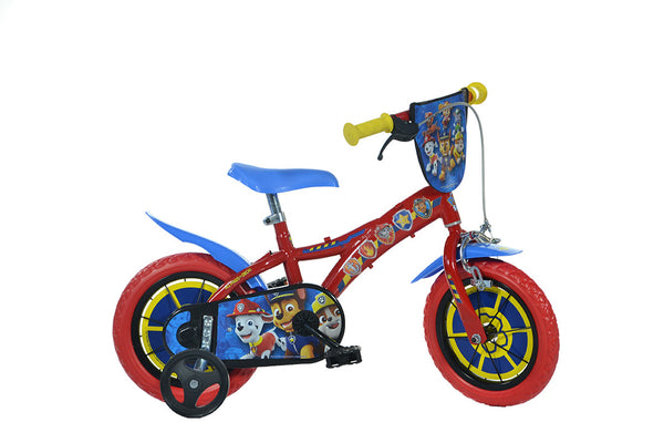Paw Patrol 12 Quot Licensed Kids Bike With Stabilisers