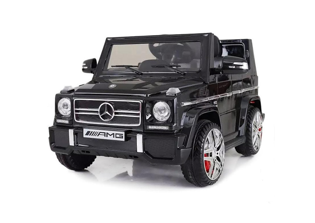 Mercedes Benz G65 G Wagon Licensed 12v Battery Kids Ride On Jeep Bla Happyhometoys