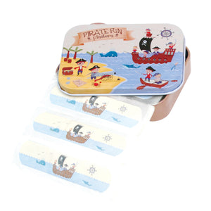 Rex London Pirate Plasters in a Tin - little-tiger-togs