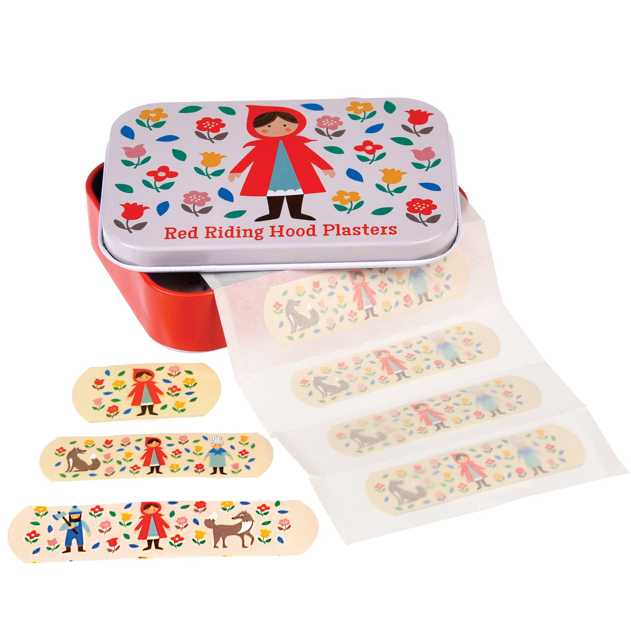 Rex London Red Riding Hood Plasters in a Tin - little-tiger-togs