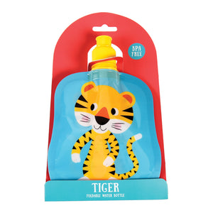 Rex London Tiger Folding Water Bottle - little-tiger-togs