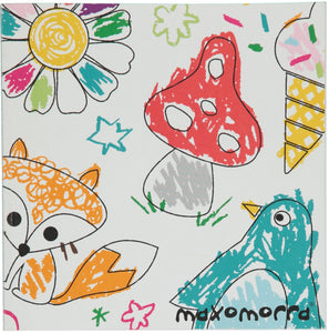 Maxomorra 10 Year Celebration Colouring Book - little-tiger-togs