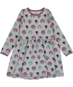 Maxomorra Dress Spin LS Park - little-tiger-togs